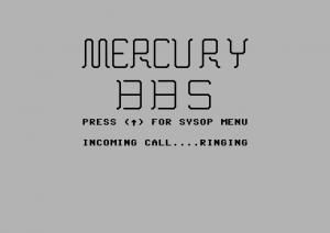 Mercury BBS for C64