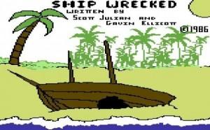 Commodore 64 graphic/text adventure game