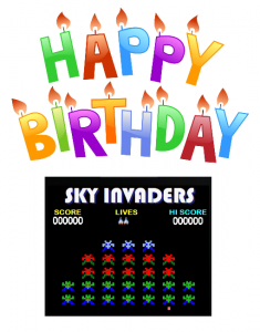 Happy Birthday Sky Invaders