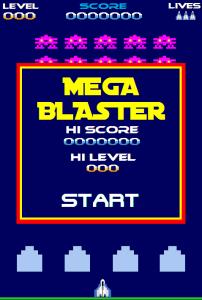 New Mega Blaster Game
